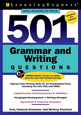 501 Grammar and Writing Questions By Learningexpress (COR)